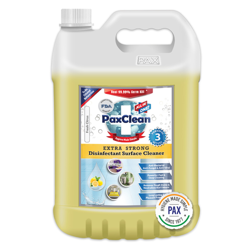 PaxClean All in One Extra Strong Disinfectant Surface Cleaner
