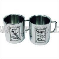Steel Tea/coffee Printed Mugs