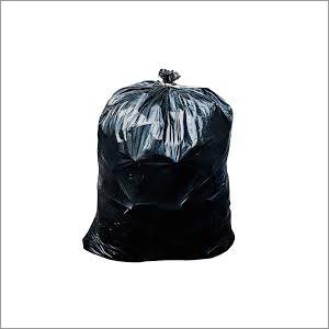 Black Plain Trash Bags
