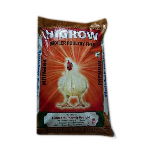 Higrow Premium Broiler Poultry Feed