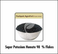 Super Potassium Humate 98 % Flakes