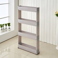 4 Tier Kitchen Rack (Grey)