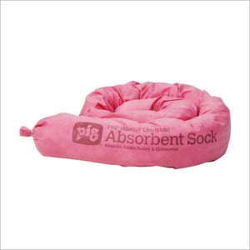 124CR Pig Haz Mat Absorbent Socks