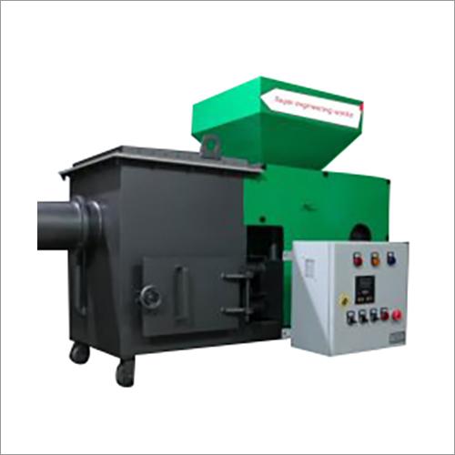 Pellet Burner Machine