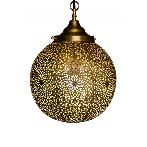 Iron Pendant Ball Lantern