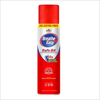 Berger Breathe Easy Safe 24 Multi Surface Protection Spray