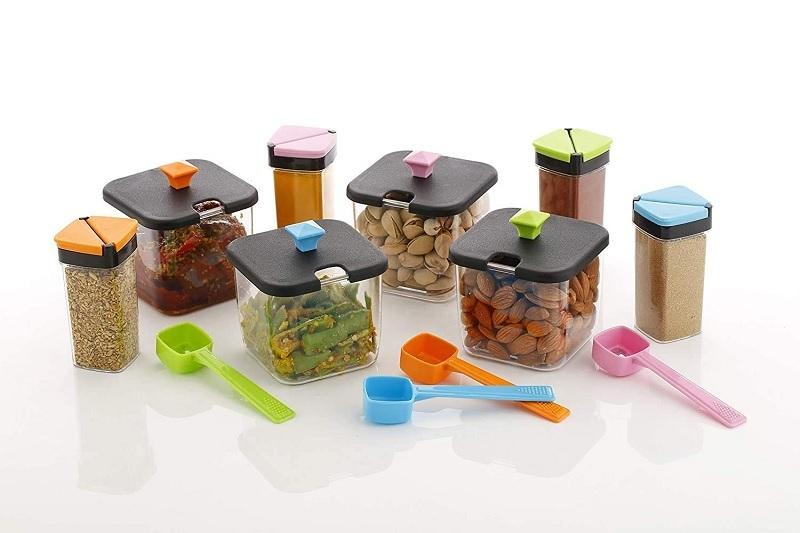 Chaar Pai Spice & Pickle Set (Random Color)