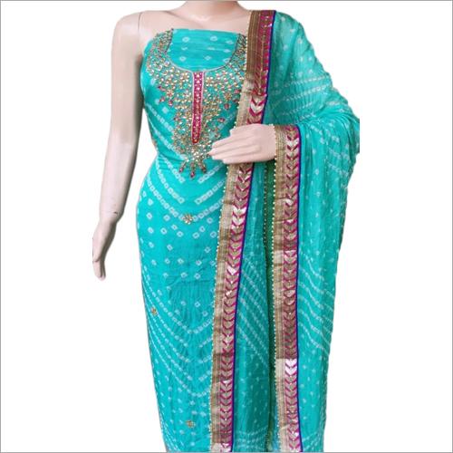 Ladies Designer Bandhej Suit