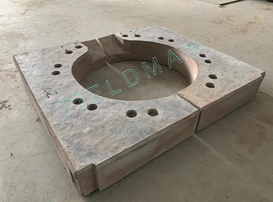 Induction Furnace Top Block
