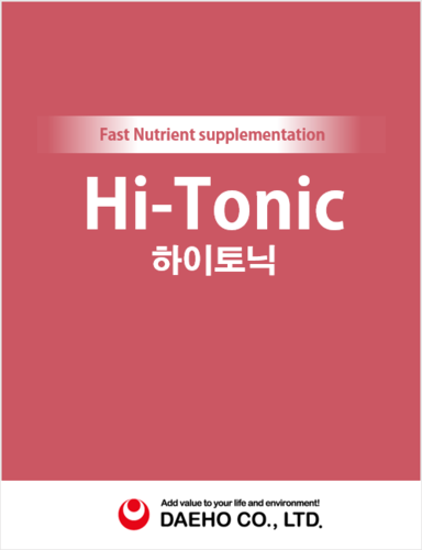 Korean Feed additive Hi Tonic with Active ingredients Bioflavonoids/hydrolyzed protein/choline