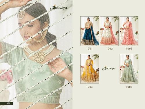 Agnilekha Vol-1 Heavy Net With Satin Silk Lehengha Choli