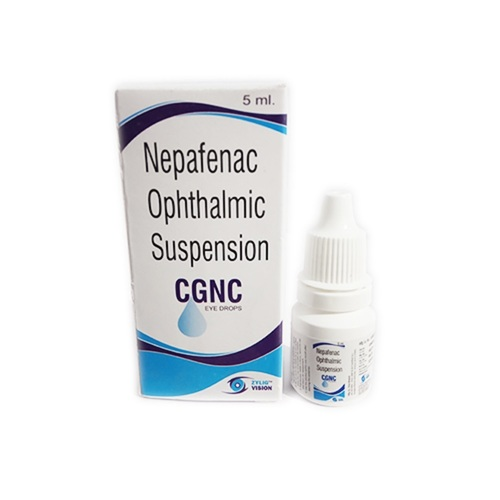 Zylig Vision (Nepafenac ophthalmic suspension CGNC Eye drops)