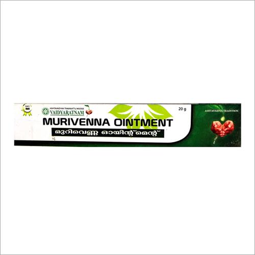 20G Vaidyaratnam Murivenna Ointment