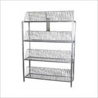 Commercial Plate Drying Rack