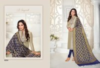 Life -style Vol 6 Modal Silk With Hand Work Dress Material