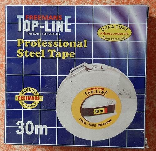 Freemans steel measuring tape 30 meter