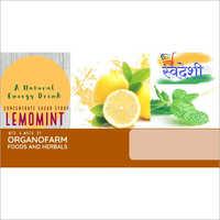 Natural Lemon Mint Energy Drink