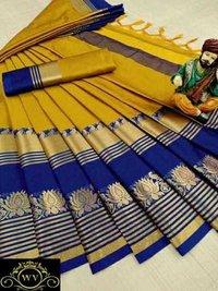 Original Aura silk saree