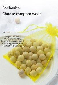 Wood Camphor Balls