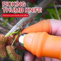 Silicone Thumb Knife Blade