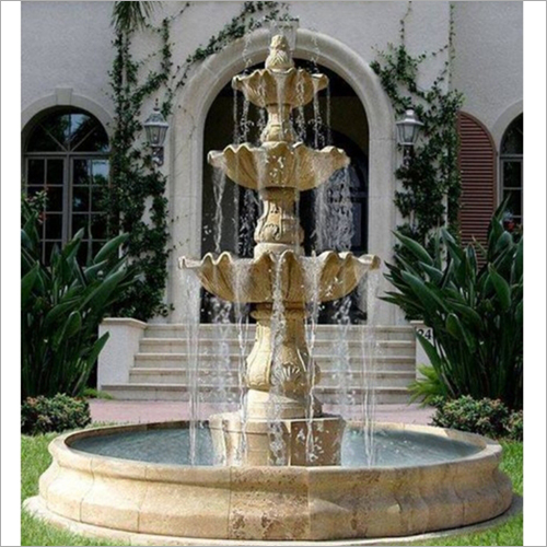 Outdoor Sand Stone Fountain