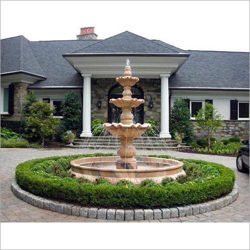 Garden Sand Stone Fountain