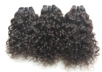 Unprocessed curly hair, 100% virgin human hair 100 % Tangle Free, Silky Smooth