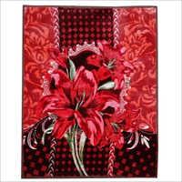Printed Single Bed Mink Blanket