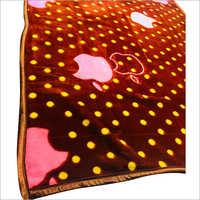 Weave India Apple Print Mink Blankets