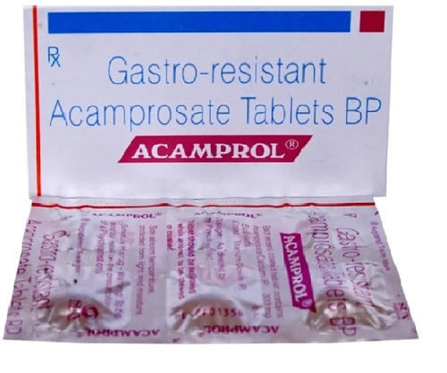 Generic Equivalent to Campral 333mg (Acamprosate) Tablet