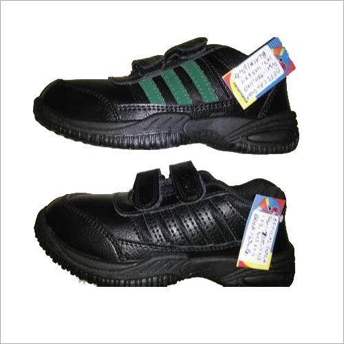 Kids Black Canvas Shoes