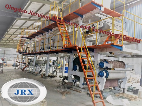Hot thermal paper coating machine with PLC control
