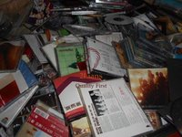 PC from DVD, CD whole disc mixed Scrap