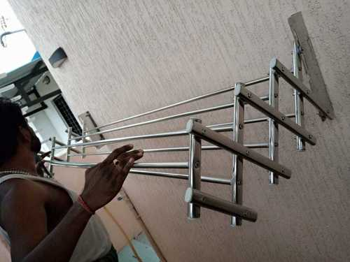 Fancy SS Wall Mounting  Cloth Hangers in Tiruppur