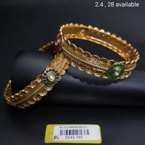 Antique Bangles with G.J plating