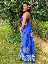 Tube Maxi Smocked Dress