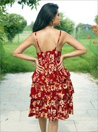 Batik Panel Sundress in Rayon