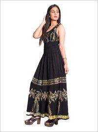 Batik Smocked Dress