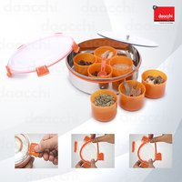 Steel Lock Stainless Steel Spice Container