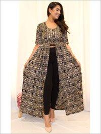 Batik Asymmetrical Dress