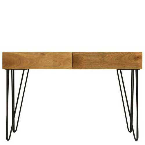 Wood Metal Writing Table