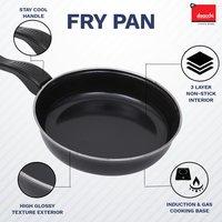 Enamel /Ceramic  Cookware Black Fry Pan