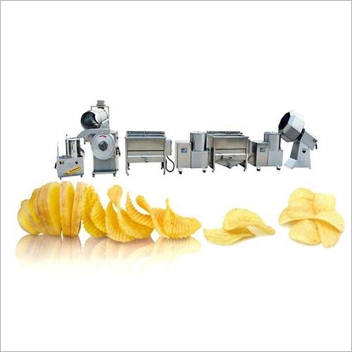 Potato Chips Processing Machine
