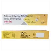 Diclofenac Diethylamine, Methyl Salicylate, Menthol And Oleum Lini Gel