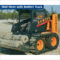 Skid Steer Loader With Rubber Track