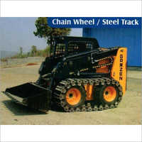 Skid Steer Loader With Steel Track