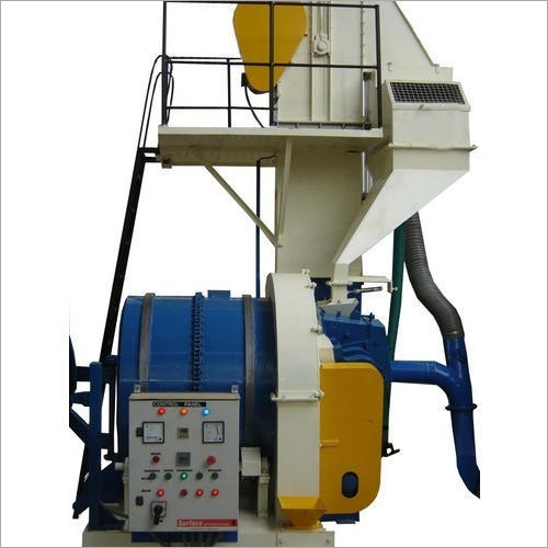 Rotary Barrel Type Shot Blasting Machines