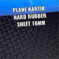 16 mm Plane Kartik Hard Rubber Sole Sheet