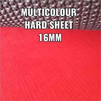 16 mm Multicolor Hard Rubber Sole Sheet