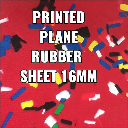16 mm Printed Plain Rubber Sheet